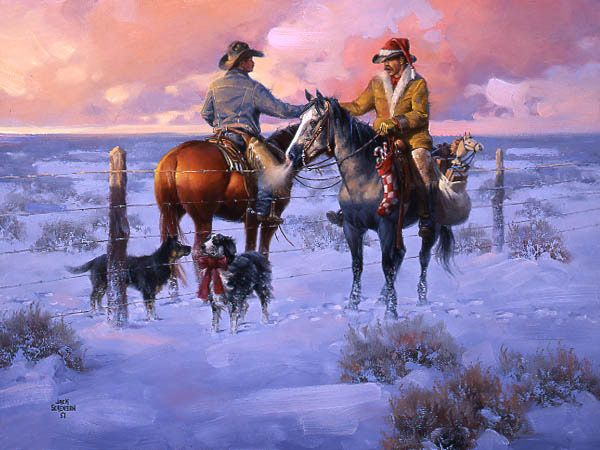 1000+ Images About Western Christmas On Pinterest