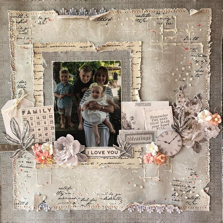 The layout I did for the @kaisercraft challenge this month #scrapbooking #create #memories #kaisercraft #family #embellishments #diecuts…