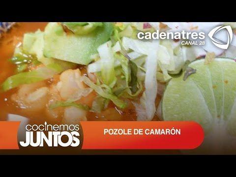 POZOLE DE CAMARÓN ¿Cómo preparar pozole de camarón? / Receta de comidas mexicanas - YouTube