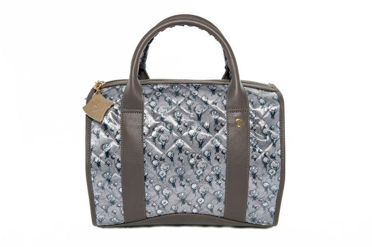 Crystal Bag - Grey Balloons www.federicalunello.com #federicalunello #bags #accessories #handamade #madeinitaly