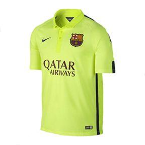 Nike Youth Barcelona Flash Flood Soccer Jersey (Alternate 2014/15)