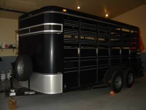 """wyoming farm & garden """"used horse trailers for sale ..."""