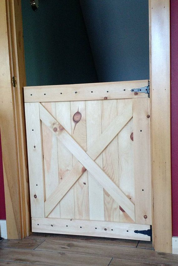 Barn Door Gate Pet Half Up To 36 X30 Size