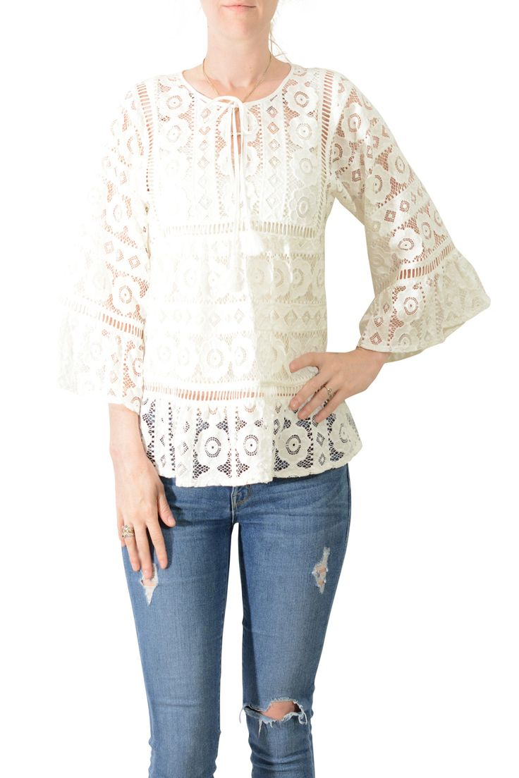 Tracy Reese Lace Blouse