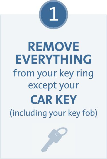 Remove everything from your key ring except your car key, including your key fob  #general_motors #ignition #defect
