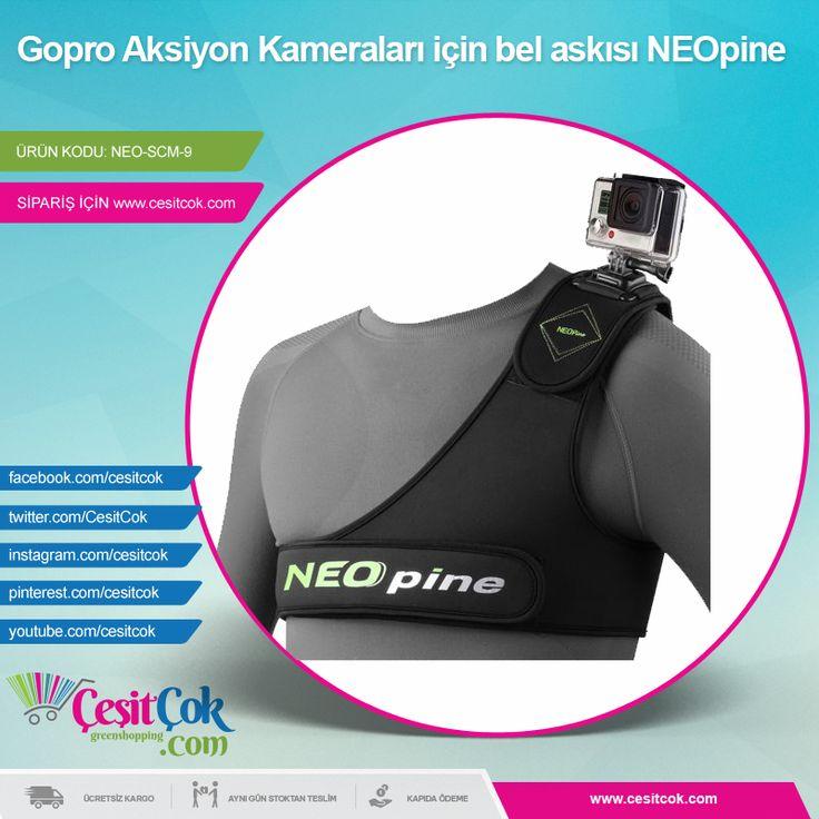 #Gopro #Aksiyon Kameraları için bel askısı #NEOpine  >> http://goo.gl/atIatO