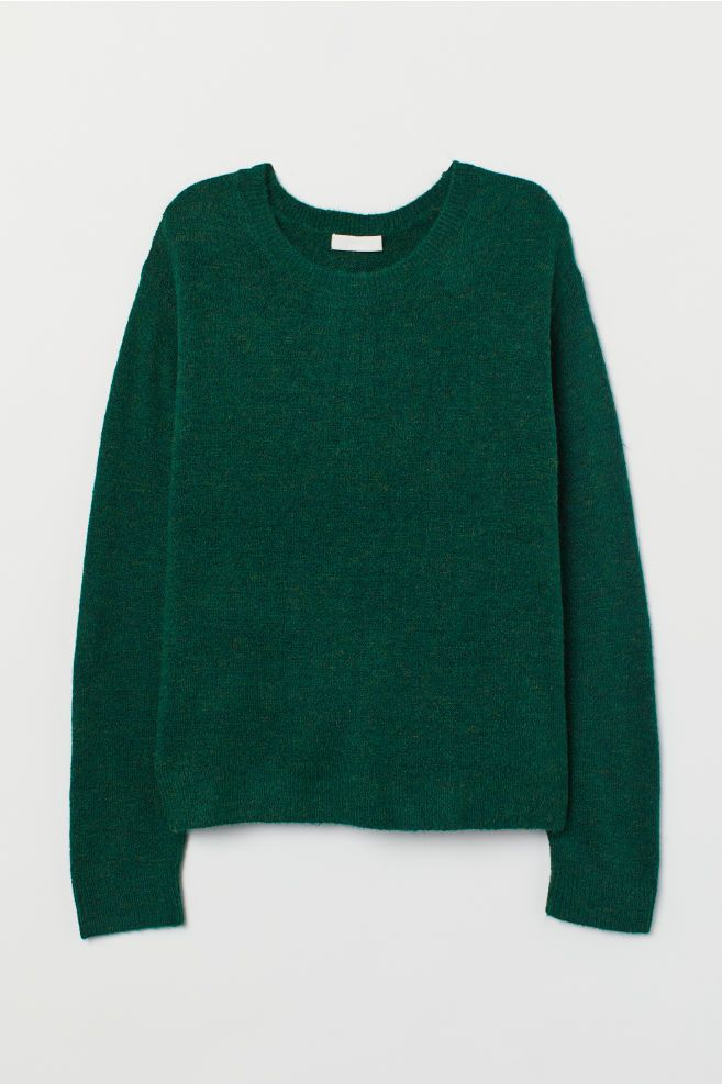 067e870e6af4 Fine-knit Sweater in 2019 | i enjoy being a girl | Sweaters, Green ...
