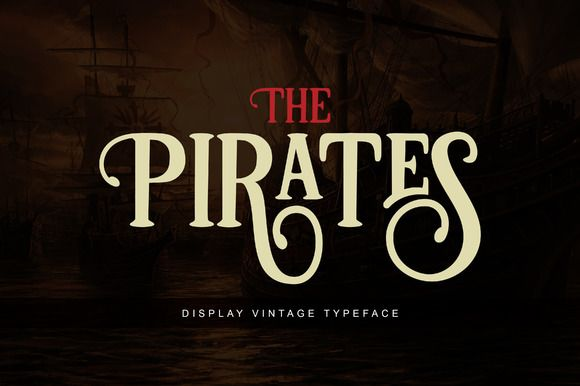 Pirates by Unicode on @creativemarket