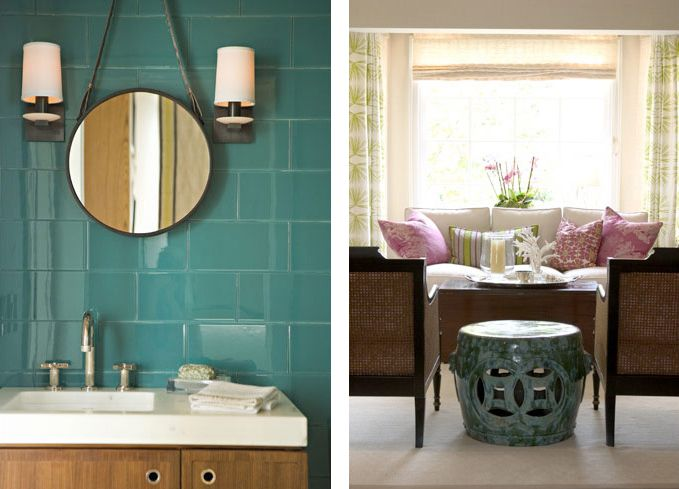 turquoise tile love