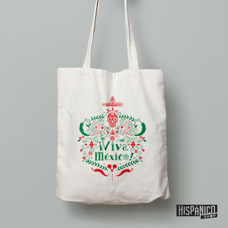 'Viva México' means 'Long live Mexico'. Great bag for all Mexico Lovers!