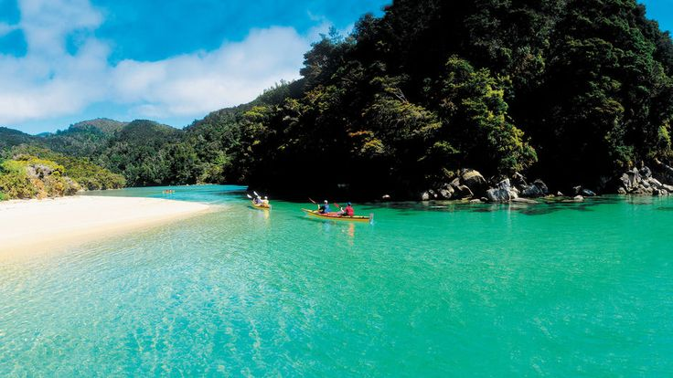 Abel Tasman Coast Track Explore on foot or by sea kayak, for one day or several - the choice is yours.