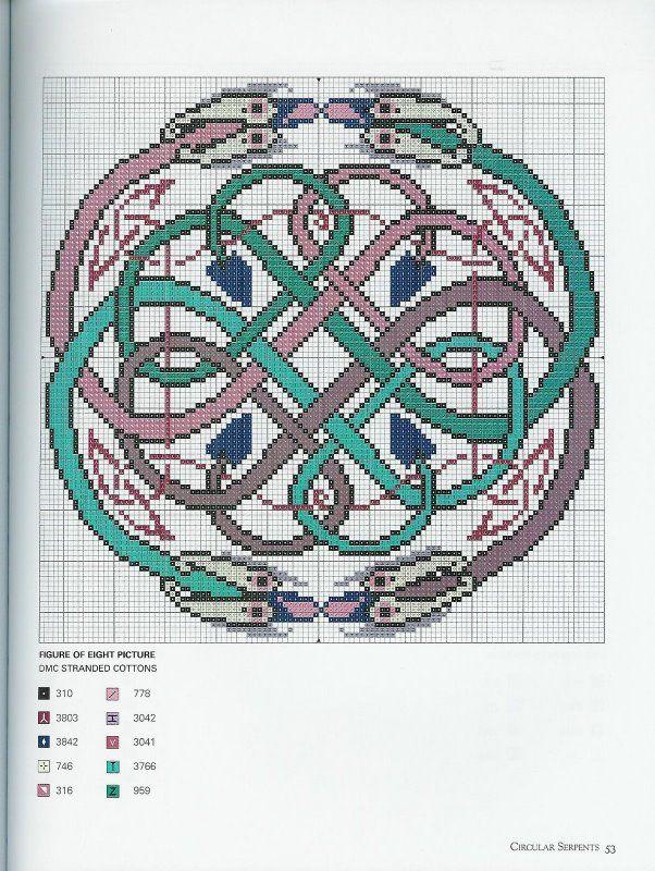 Celtic Motifs Cross stitch celtic Pinterest