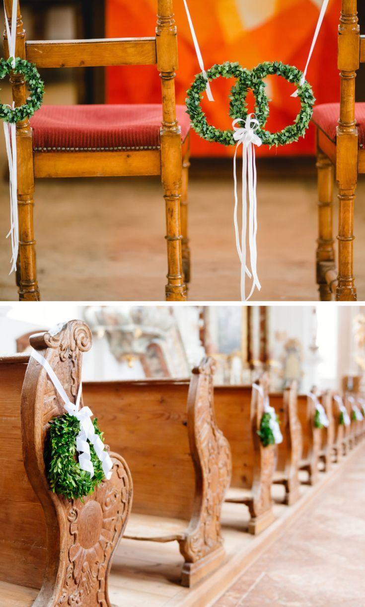 Hochzeitsdeko Kirche: 10 einfache u. geschmackvolle Kirchendeko ...