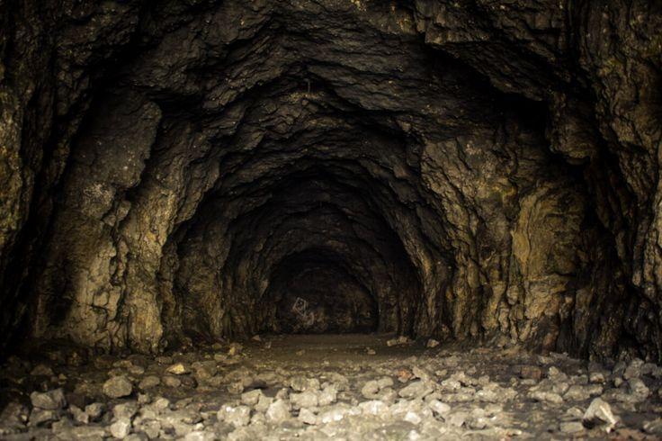 Podzemní základna na Stránské skále. Brno Czech republik.