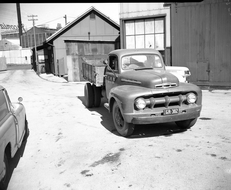 1953 CRB Ford truck photographed in Storeyard