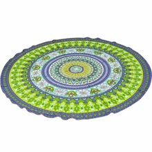 150cm Round Mandala Tapestry Wall Hanging Decor Picnic Throw Towel Beach Yo-ga Mat Circle Beach Towel Serviette De Plage Dec06