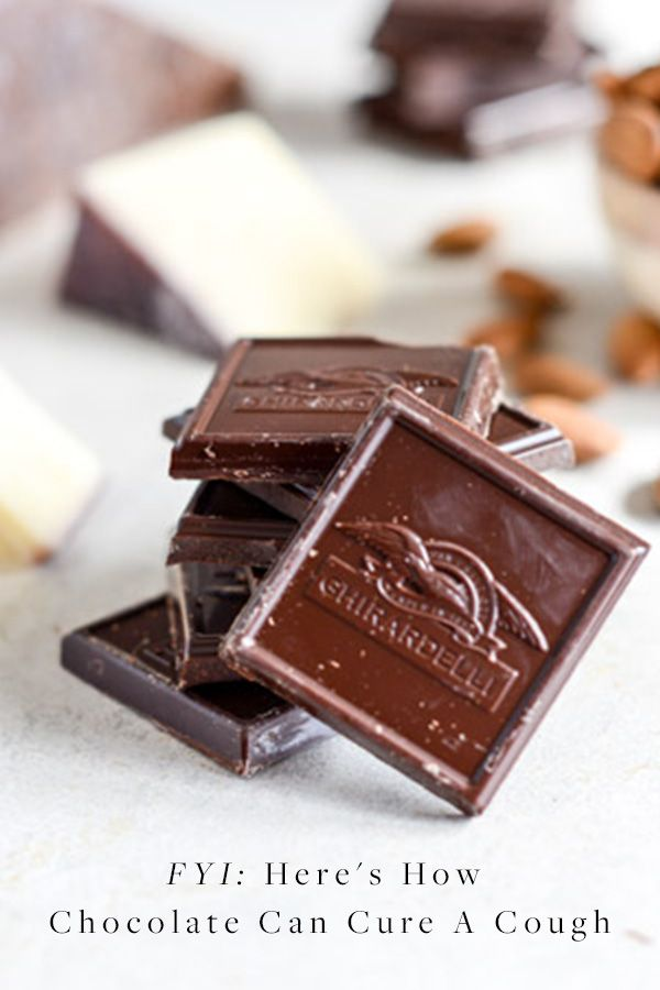When It Comes to Coughs, Chocolate Is More Effective Than Codeine  via @PureWow