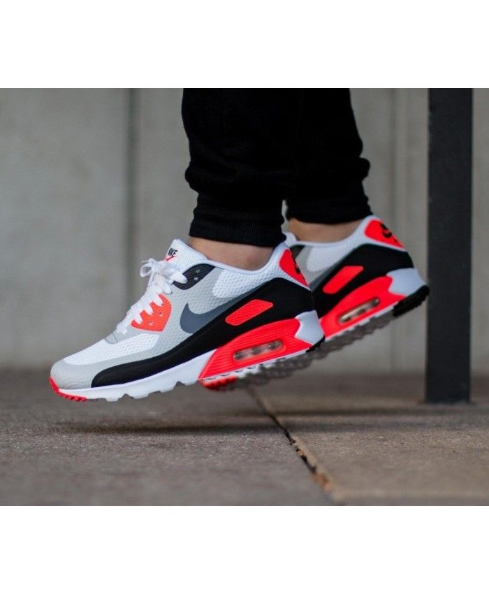 half off ebcbc fb826 Nike Air Max 90 Ultra Essential Infrared Trainers Clearance