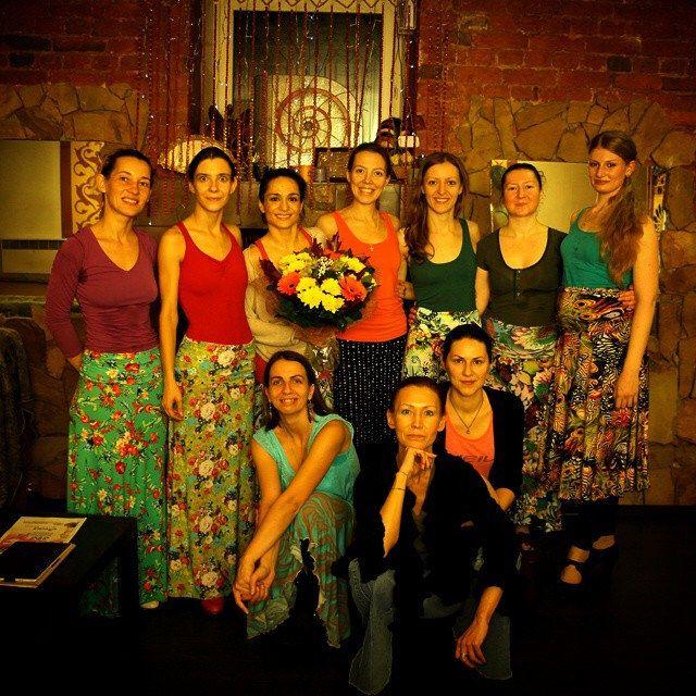 Окончание #фламенко курса Maribel Ramos