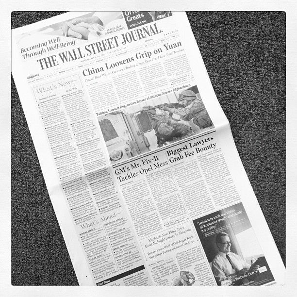 all the bylines on today s wsj front page are women on wall street today id=35061