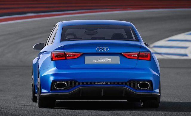 #Audi #A3 Clubsport quattro Concept