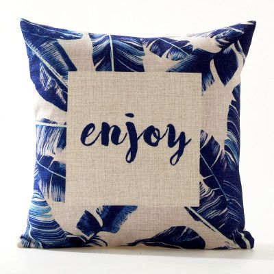Watercolor Nature Pillow Covers (18 Styles)
