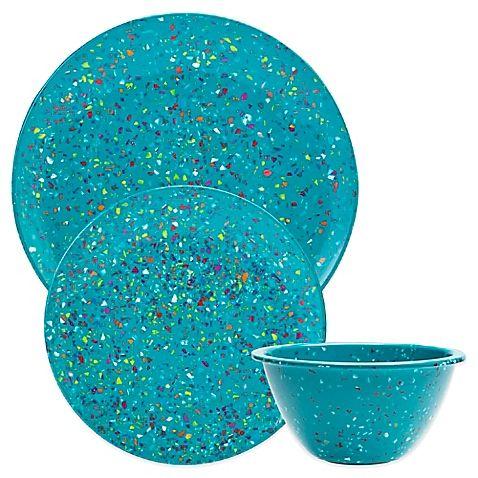 Zak! Designs® Confetti 12-Piece Dinnerware Set - BBB - $68  sc 1 st  Pinterest & 19 best Dinnerware images on Pinterest | Dish sets Dinnerware sets ...