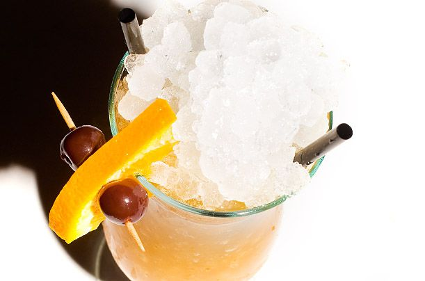 Rum drinkers will get swept away by the Hurricane, a drink that was created during the Prohibition era as a way to rid bars of the lesser-loved booze. It tastes like summer: http://ti.me/LmhaT6: Signature Cocktail, Fruit Syrup