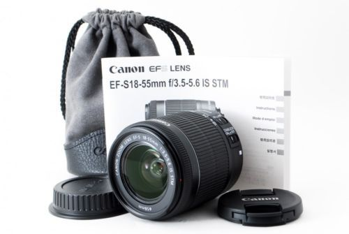 Canon-EF-S-18-55mm-F-3-5-5-6-STM-IS-Lens-Near-Mint-From-Tokyo-Japan-F-S