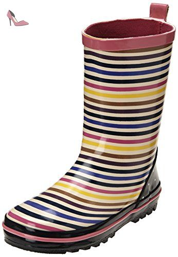 Be Only Sonya, Bottes de pluie fille - Multicolore (Multi), 22 EU - Chaussures be only (*Partner-Link)