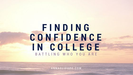 It's important to recognize throughout life, and remember in college, that you are not defined by your surroundings.  What people say about you...
