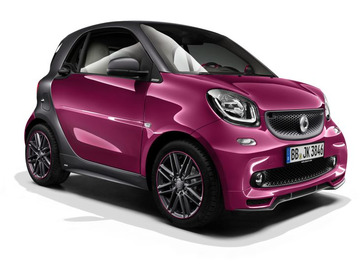 Smart fortwo BRABUS tailor made coupé (C453) '2014
