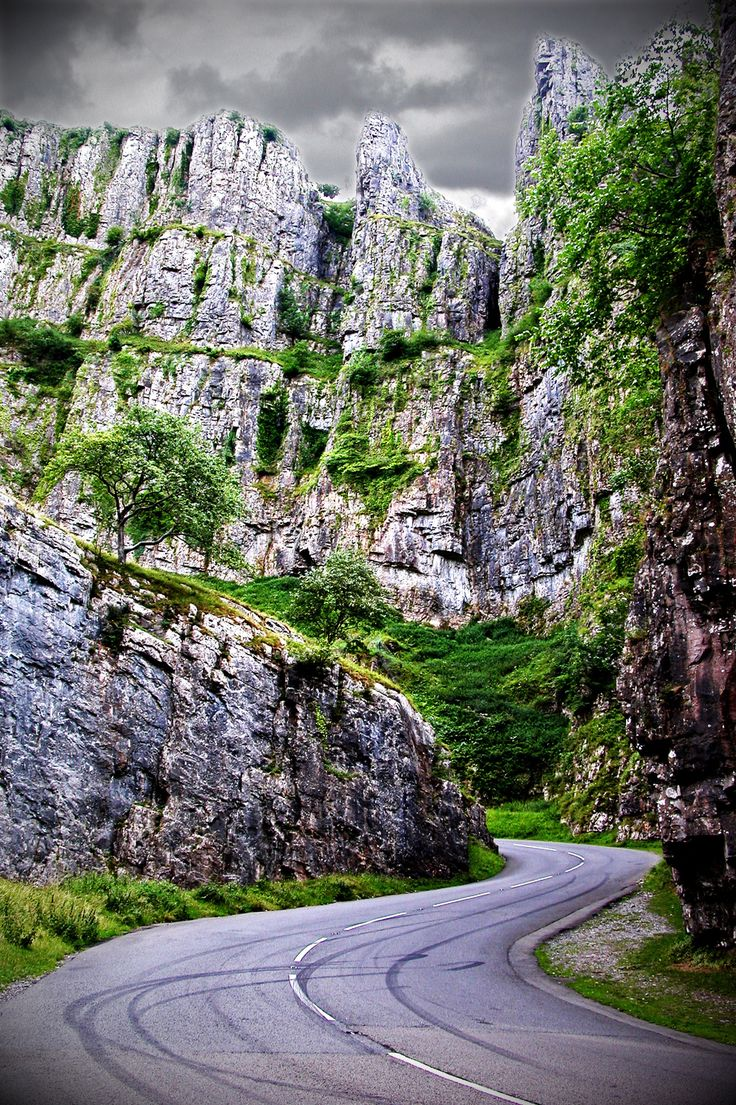 Cheddar Gorge in Somerset, England  | 16 Places You'll Hardly Believe Are In The United Kingdom