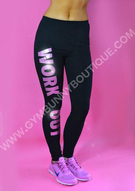 Nike Work Out Fashion Legging