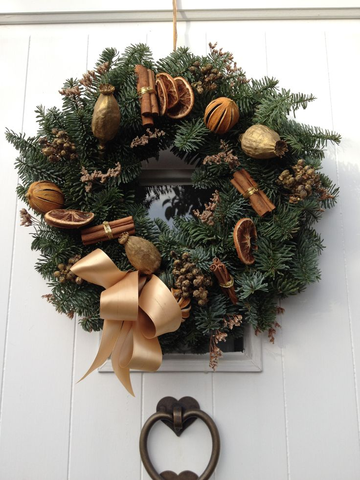 Spicy Gold Wreath.  Available from Wendy B