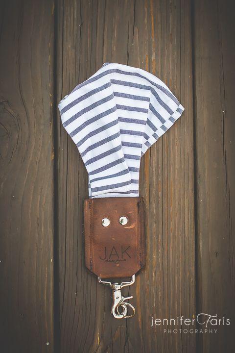 Stripes Scarf Camera Strap (Wrist) | JAK Designs