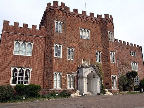 Hertford Castle gatehouse, Hertford by Ewart Tearle, via Flickr - We love our county town!