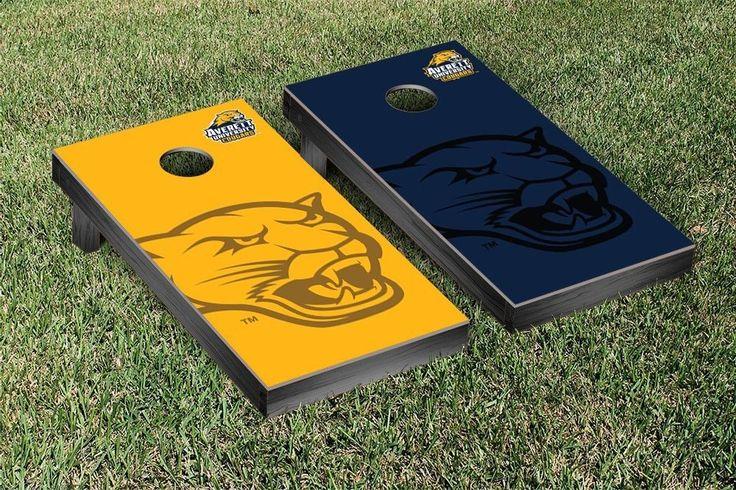 Cornhole Game Set - Averett University Cougars Watermark Version - 36033