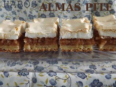 Kipróbált és bevált receptek ...: Habos almás pite + SAD 28. forduló