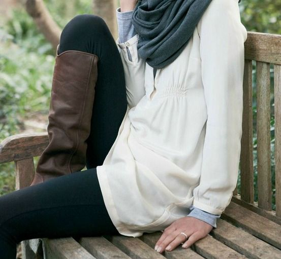 Boots and Hijab |  Is it cold out there? Is it hot? Time for a change in footwear - experiment with boots for all seasons  |  tags: hijab fashion, hijab outfit, hijab style, hijab inspiration