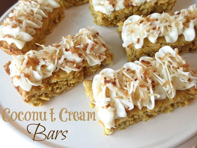 Coconut Cream Bars | recipes | Pinterest