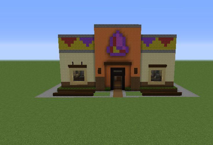 Minecraft Taco Bell | Taco Bell In Minecraft taco bell restaurant 1 - grabcraft - your ...