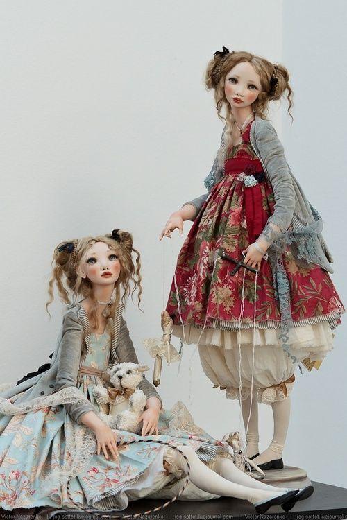 umla:  (via Кукольная выставка DollArt 2013   all things sweet)