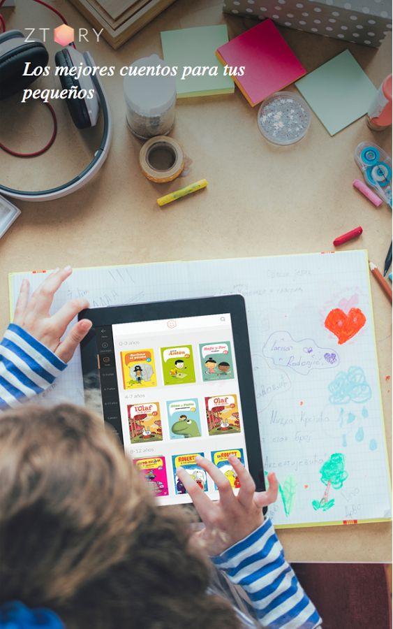 ¡Los mejores #cuentos para tus pequeños en #Ztory!