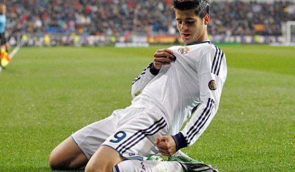 Alvaro Morata Real Madrid chest