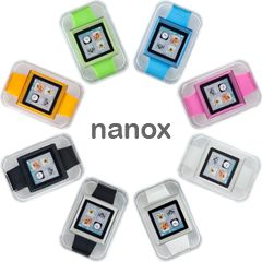 nanox: High-Quality iPod nano Watch Conversion Kit