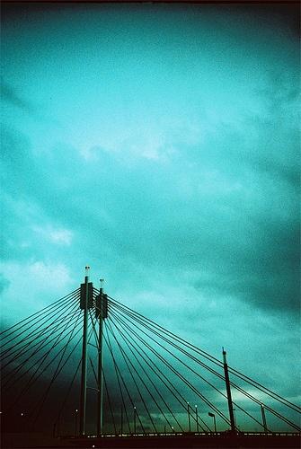 Awesome photo of the Nelson Mandela bridge in Johannesburg by Roelof van Wyk, via Flickr