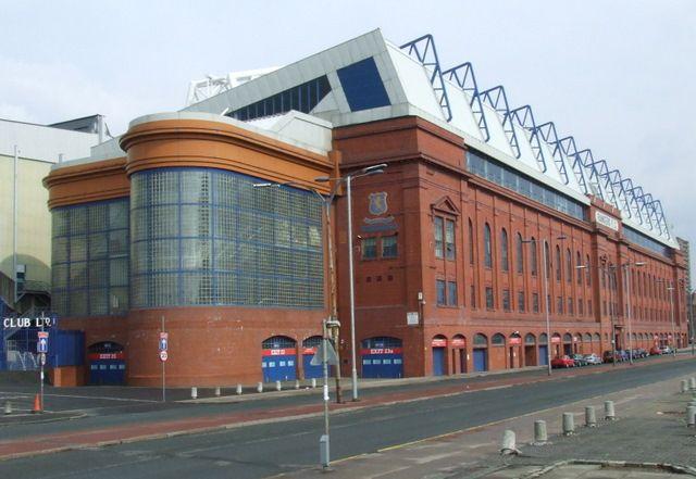 Ibrox Stadium - home to Rangers Football Club, Glasgow