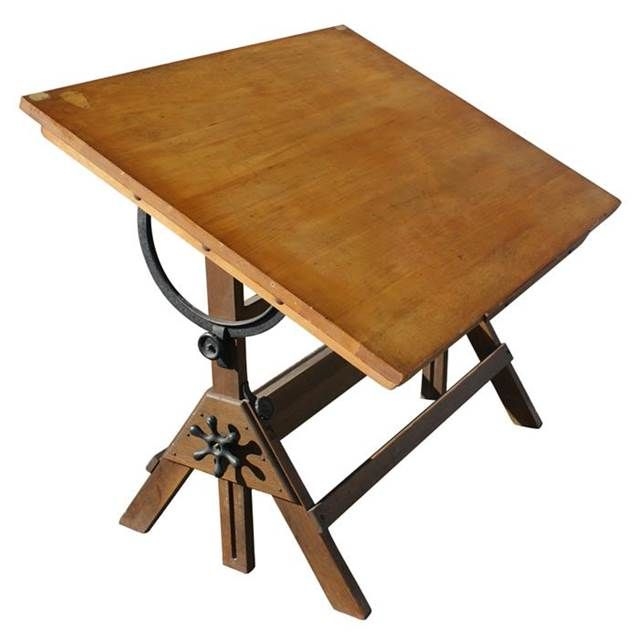 Antique Drafting Table   Bing Images