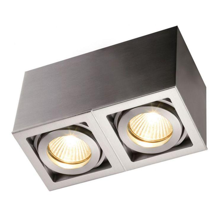 Light-Point Qana Box 2  Light-Point Qana Box 2, en smart lille spotlampe til montereing i lofter med to lyskilder. Qana Box findes i fire forskellige...